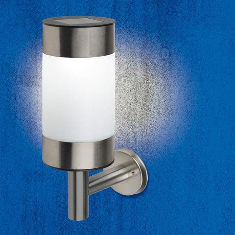 USL-F-153/MM220 SYDNEY Cветильник настенный на солнечной батарее. 1 светодиод. Белый свет. 1*АА Ni-Mh аккумулятор в/к. IP44. TM Uniel