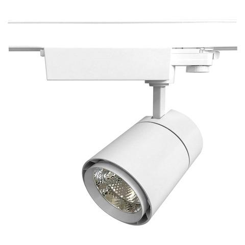 ULB-T52-35W/4000K/A WHITE Светильник-прожектор светодиодный трековый. 3200 Лм. Белый свет (4000К). Корпус белый. ТМ Uniel