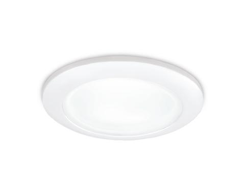 Встраиваемый влагозащищенный точечный светильник TN108 WH белый GU5.3 D92*35