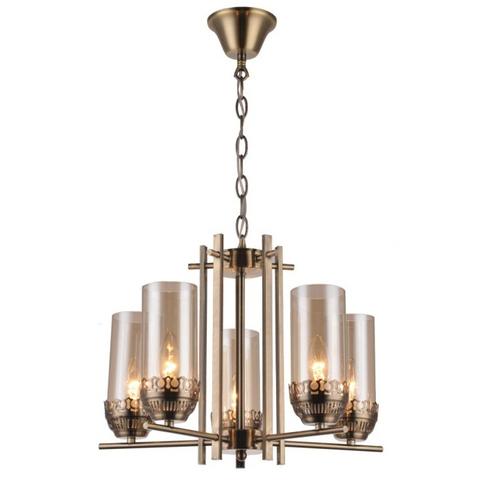 Подвесной светильник Escada 410/5 E14*60W D460 Antique Brass