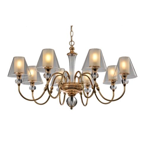 Подвесной светильник Escada 1131/8S E14*40W Gold