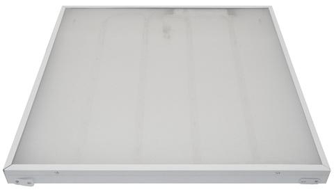ULP-6060 40W/5000К IP40 GRILYATO WHITE Светильник светодиодный потолочный встраиваемый. Белый свет (5000K). 4600Лм. 588X588x40мм. Корпус белый. В комплекте с и/п. ТМ Uniel.