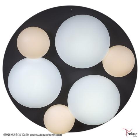 09928-0.3-54W Coffe светильник потолочный