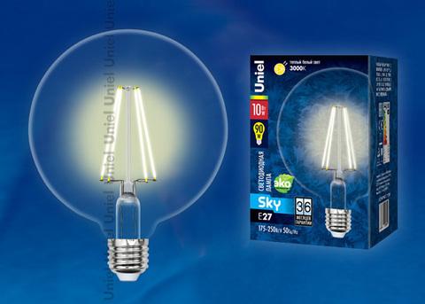 LED-G125-10W/WW/E27/CL PLS02WH Лампа светодиодная. Форма