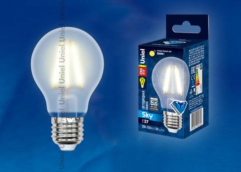 LED-A60-8W/WW/E27/FR PLS02WH Лампа светодиодная. Форма