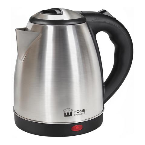 Чайник металлический HOME ELEMENT HE-KT178 черный жемчуг