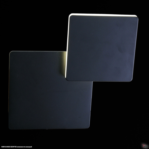 86685-9.2-001RD LED6W BK светильник точ. накладной