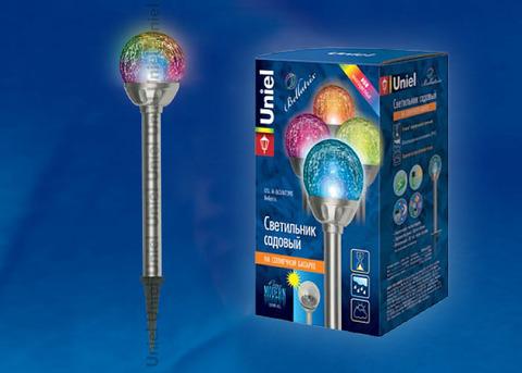 USL-M-063/MT390 Садовый светильник на солнечной батарее Bellatrix. Серия Modern
