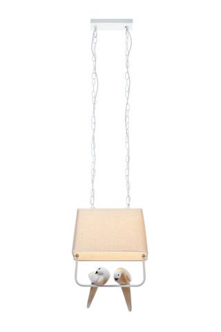 Подвесной светильник Escada 10170/1S E27*60W White/Beige