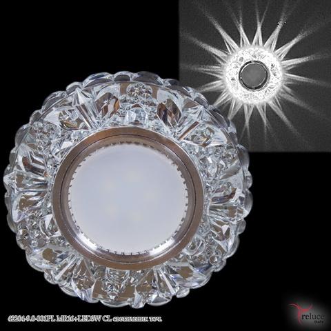 42204-9.0-001PL MR16+LED3W CL светильник точ.