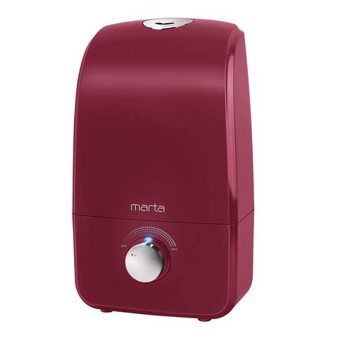 Увлажнитель воздуха MARTA MT-2374 бордовый гранат