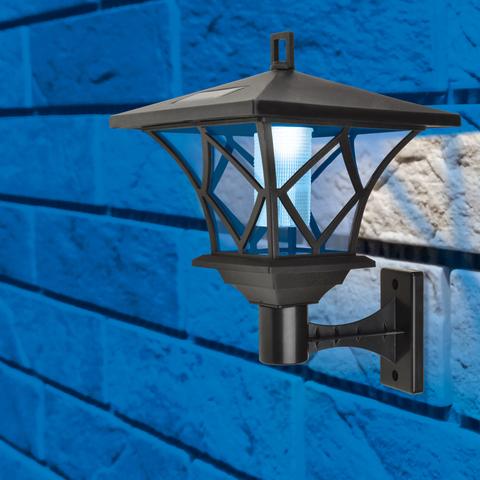 USL-S-186/PM180 RETRO Садовый светильник на солнечной батарее «Ретро».  2 светодиода.  Белый свет. 1*АА Ni-Mh аккумулятор в/к. IP44. TM Uniel