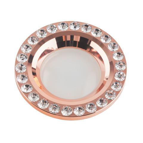 DLS-V106 GU5.3 COPPER Светильник декоративный встраиваемый ТМ