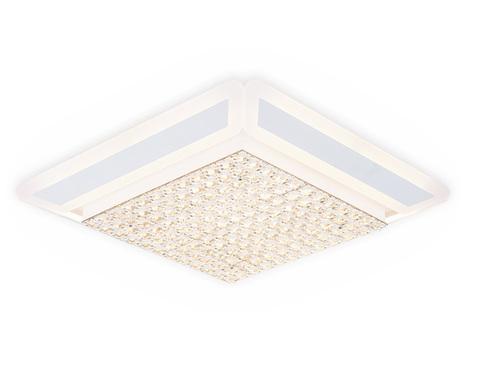 Потолочный светодиодный светильник с пультом FA141 WH белый 210W 630*630*110 (ПДУ РАДИО 2.4)