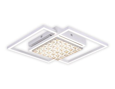 Потолочный светодиодный светильник с пультом FA112 WH белый 96W 850*660*110 (ПДУ РАДИО 2.4)