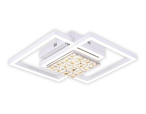 Потолочный светодиодный светильник с пультом FA111 WH белый 64W 600*450*110 (ПДУ РАДИО 2.4)