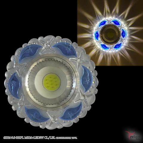 42226-9.0-001PL MR16+LED3W CL/LBL светильник точ.