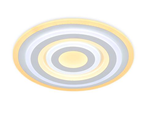 Потолочный светодиодный светильник с пультом FA808 WH белый 140W 500*500*60 (ПДУ РАДИО 2.4)