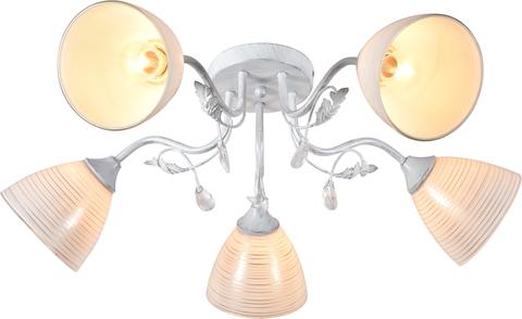 Потолочный светильник Escada 1121/5P E27*60W Chrome/White