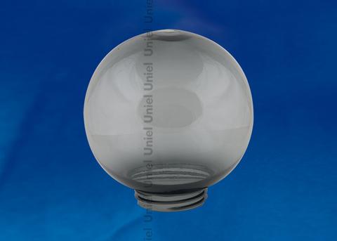 UFP-R200A SMOKE Рассеиватель в форме шара для садово-парковых светильников. Диаметр - 200мм. Тип соединения с крепежным элементом - резьбовой. Материал - САН-пластик. Цвет - дымчато-серый.  TM Uniel