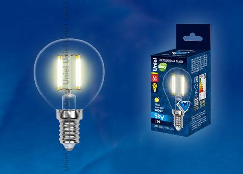 LED-G45-6W/WW/E14/CL PLS02WH Лампа светодиодная. Форма