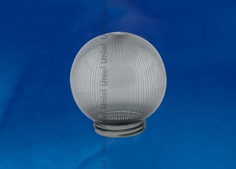 UFP-P150A SMOKE Рассеиватель призматический (с насечками) в форме шара для садово-парковых светильников. Диаметр - 150мм. Тип соединения с крепежным элементом - резьбовой. Материал - САН-пластик. Цвет - дымчато-серый. Упаковка - 16 шт. в групповой картонной коробке.