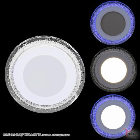 34063-9.0-001QP LED6+3W BL панель светодиодная