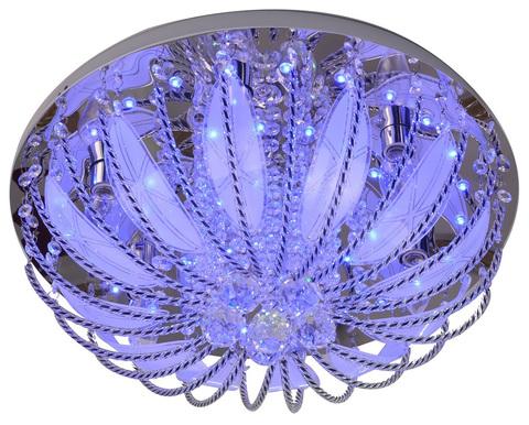 Потолочный светильник Escada 306R/5PL E14*40W+LED Chrome