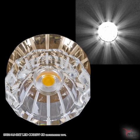 09036-9.0-001T LED COB10W GD светильник точ.