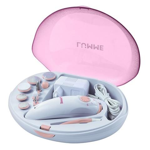 Набор для маникюра и педикюра LUMME LU-2403 розовый опал