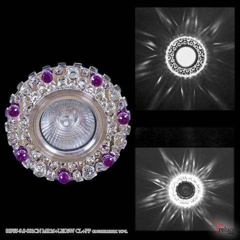 00755-9.0-001CN MR16+LED3W CL+PP светильник точ.