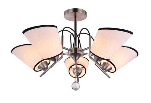 Потолочный светильник Escada 423/5PL E14*40W Platinum