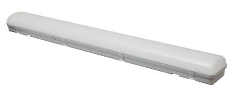 ULY-K70A 40W/4000K/L126 IP65 WHITE Светильник светодиодный промышленный. Белый свет (4000К). 4360Лм. 1260X150x100мм. Корпус белый. TM Uniel