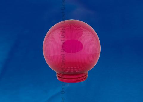 UFP-P150A RED Рассеиватель призматический (с насечками) в форме шара для садово-парковых светильников. Диаметр - 150мм. Тип соединения с крепежным элементом - резьбовой. Материал - САН-пластик. Цвет - красный. Упаковка - 16 шт. в групповой картонной коробке.