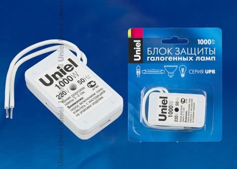 UPB-1000W-SL Блок защиты для галогенных ламп. Блистерная упаковка.