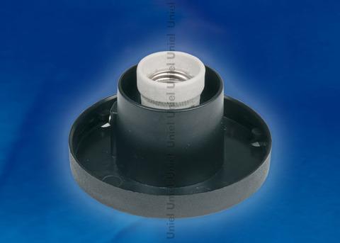 UFP-А02BE BLACK Основание для садово-парковых светильников. Тип соединения с рассеивателем - посадочный. Встроенный патрон Е27. Материал - пластик. Цвет черный. Упаковка - картон.
