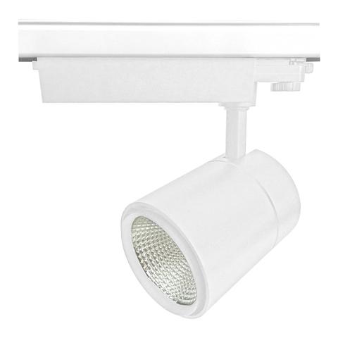 ULB-T52-50W/4000K/B WHITE Светильник-прожектор светодиодный трековый. 4500 Лм. Белый свет (4000К). Корпус белый. ТМ Uniel