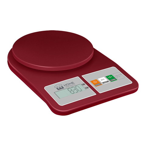 Весы кухонные сенсор HOME ELEMENT HE-SC930 (new20) красный гранат