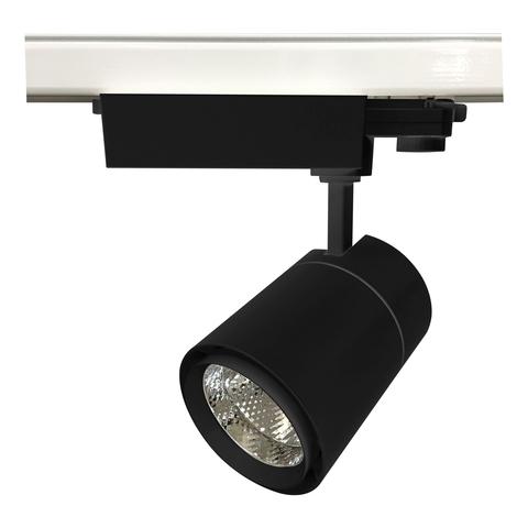 ULB-T52-35W/4000K/A BLACK Светильник-прожектор светодиодный трековый. 3200 Лм. Белый свет (4000К). Корпус черный. ТМ Uniel