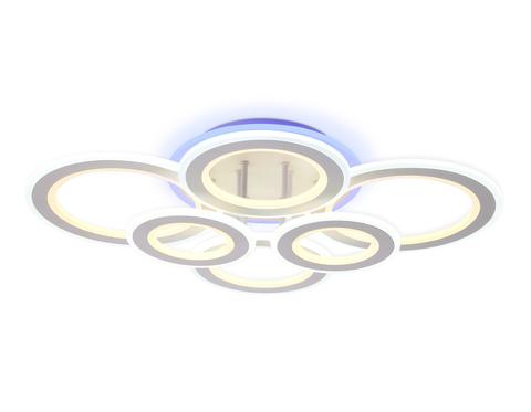 Потолочный светодиодный светильник с пультом FA8808 WH белый 198W 700*540*150 (ПДУ РАДИО 2.4)