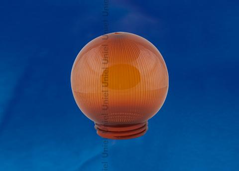 UFP-P150A BRONZE Рассеиватель призматический (с насечками) в форме шара для садово-парковых светильников. Диаметр - 150мм. Тип соединения с крепежным элементом - резьбовой. Материал - САН-пластик. Цвет - бронзовый. Упаковка - 16 шт. в групповой картонной коробке.