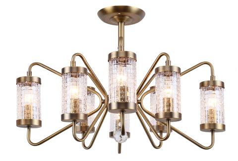 Потолочный светильник Escada 517/8PL E14*40W Antique gold