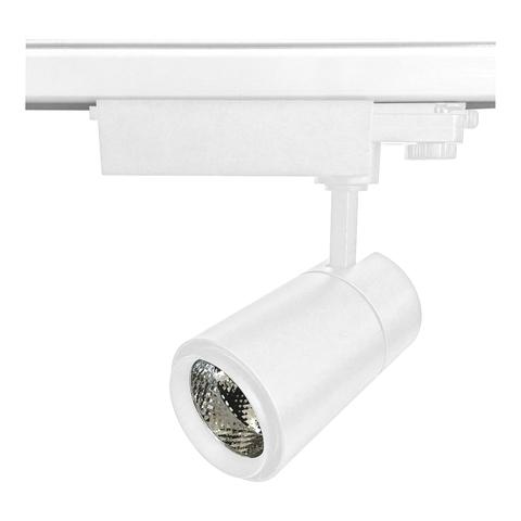 ULB-T52-24W/3000K/H WHITE Светильник-прожектор светодиодный трековый. 2200 Лм. Теплый белый свет (3000К). Корпус белый. ТМ Uniel
