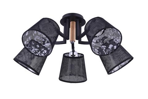 Потолочный светильник Escada 535/5PL E14*40W Chrome/Black