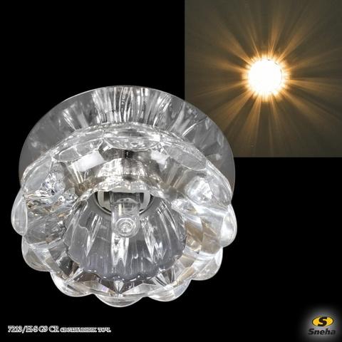 7213/H-S G9 CR светильник точ.