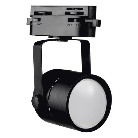 UBL-Q321 GU10 BLACK Светильник-прожектор трековый. Под лампу GU10. Корпус черный. ТМ Volpe