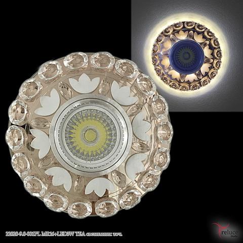 22020-9.0-001PL MR16+LED3W TEA светильник точ.