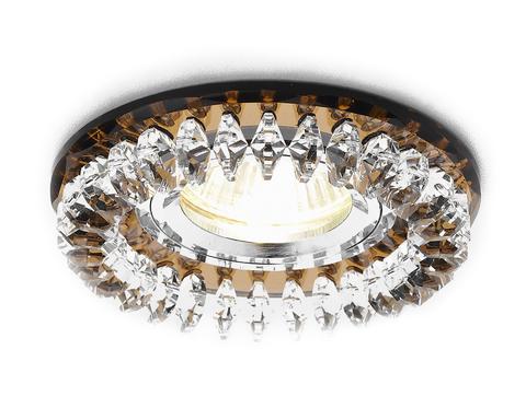 Встраиваемый точечный светильник K220 BR хром/коричневый MR16