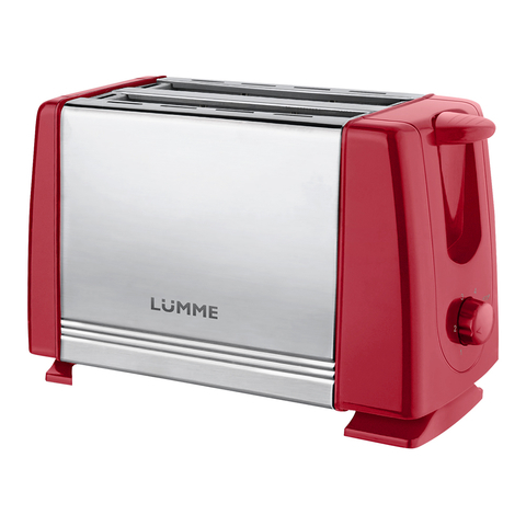 Тостер LUMME LU-1201 красный рубин
