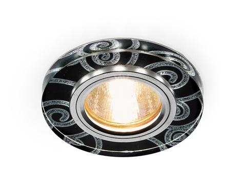 Светодиодный светильник S231 BK/CH черный/серебро/MR16+3W(LED WHITE)